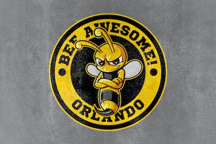 Bee Awesome! - Bee Sports and Esports Mascot Logo