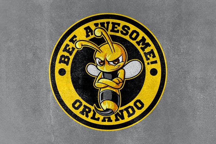 Thumbnail for Bee Awesome! - Bee Sports and Esports Mascot Logo