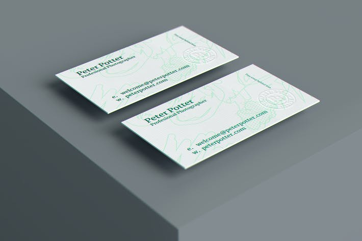 Thumbnail for Business Card MockUp v4