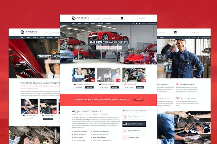 Thumbnail for Car Shire - Auto Mechanic & Car Repair Template