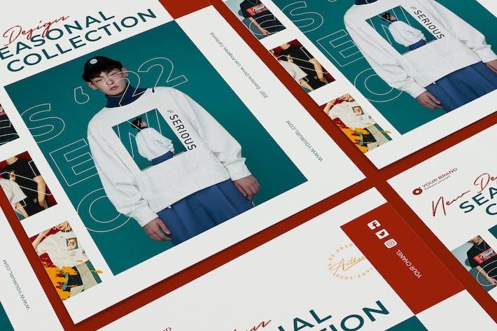 Thumbnail for Creative Fashion Sale Poster