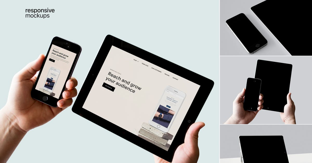 Download Responsive Devices Mockups by itscroma