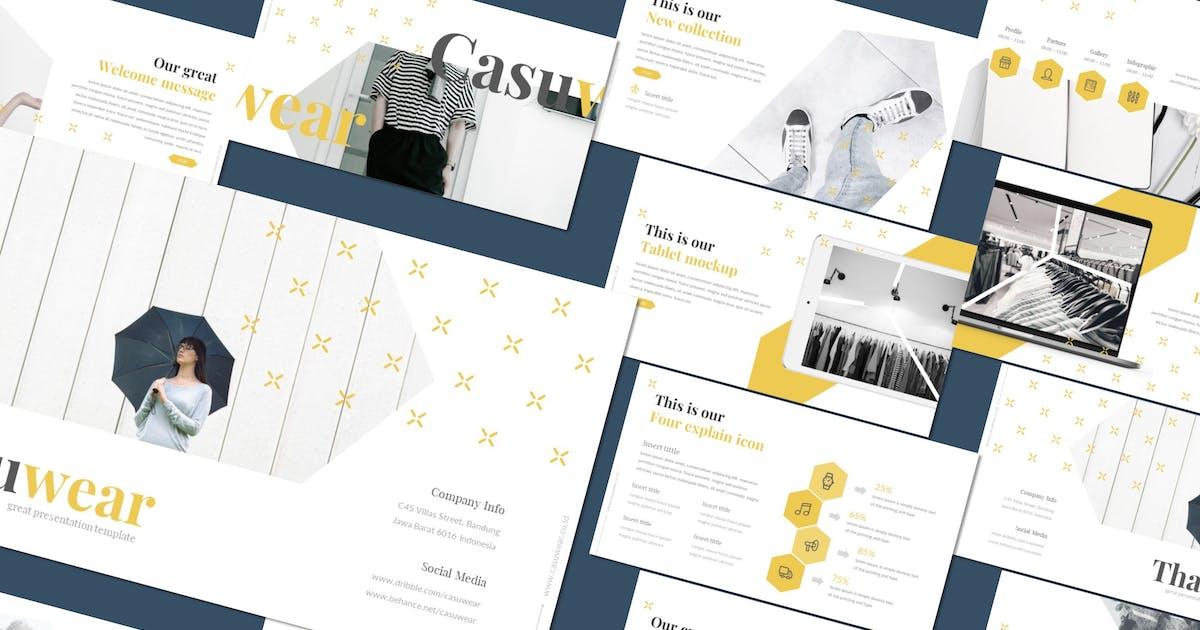 Download Casuwear - Powerpoint Template by inspirasign