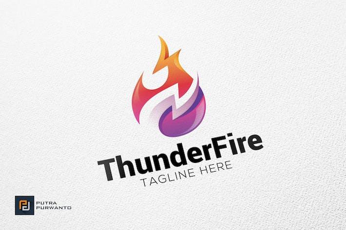 Thumbnail for Thunder Fire - Logo Template