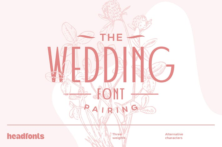 Thumbnail for Wedding Font Pairing