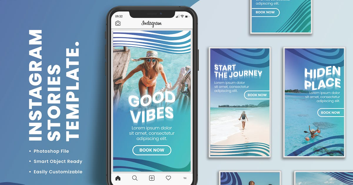 Download Instagram Stories Template by Sizimon-id