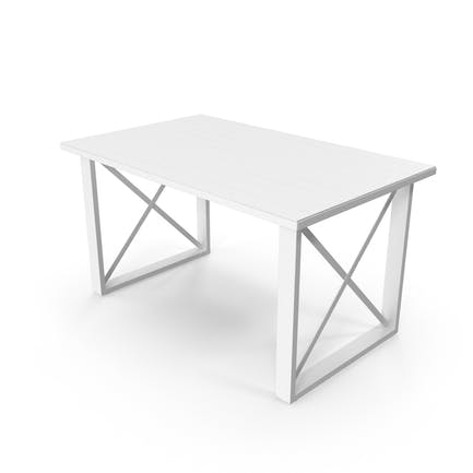 Монохромный стол