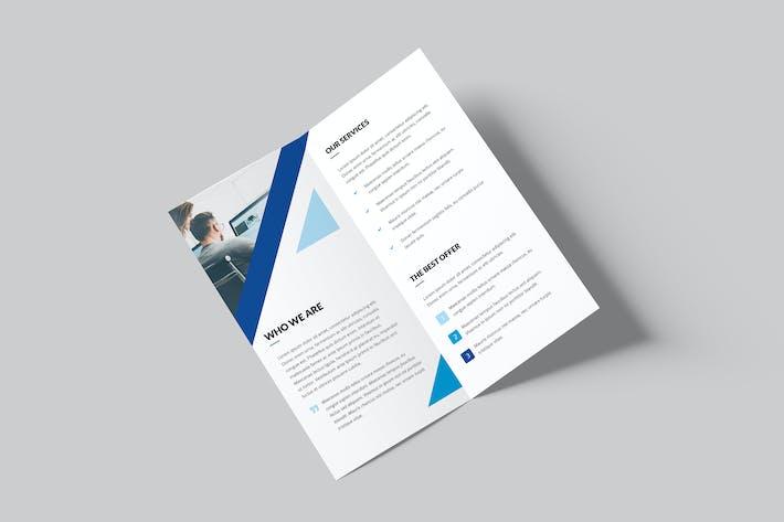 Thumbnail for Brochure – Triangle Multipurpose Bi-Fold DL