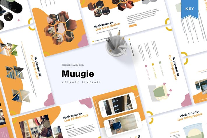 Thumbnail for Muugie | Keynote Template