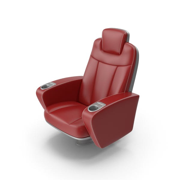 Red Figueras Cinema Seat