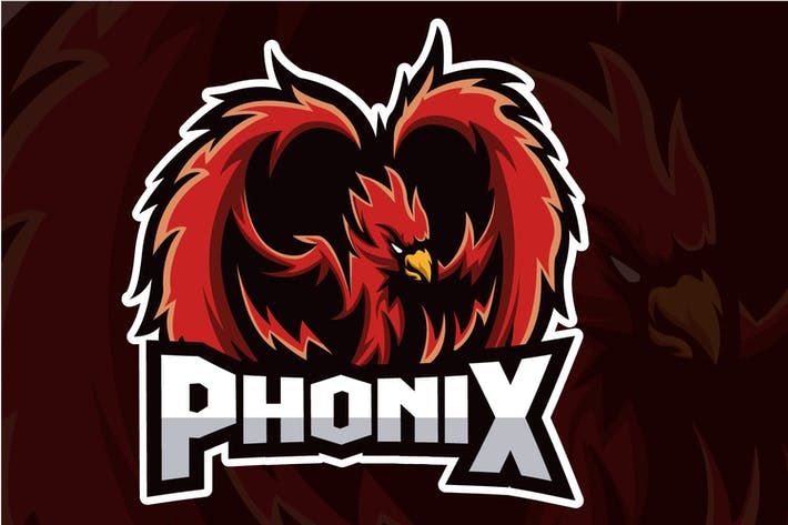 Thumbnail for Phonix - Esport Logo