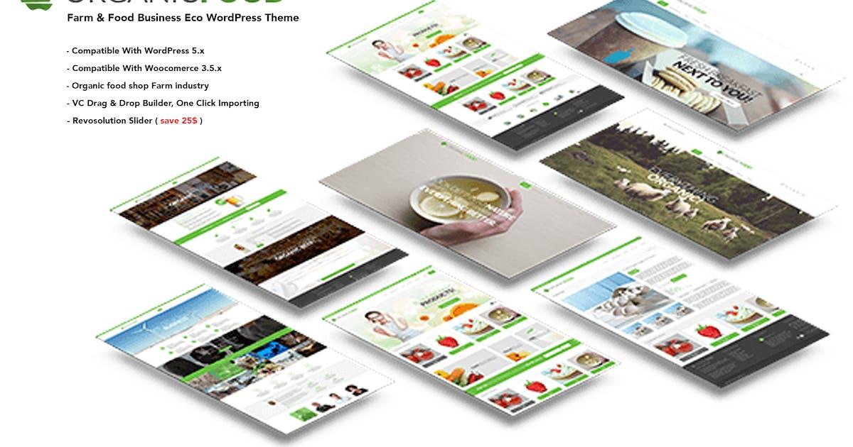 Download Organic Food - Farm & Food Business Eco WordPress by SpyroPress