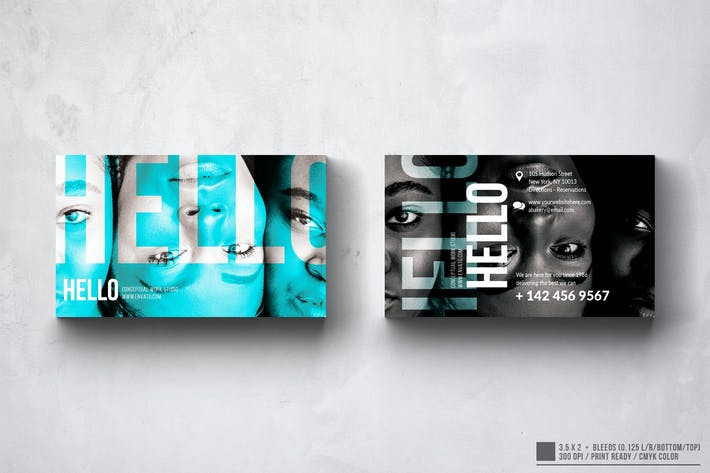 Thumbnail for Hello World Business Card Design