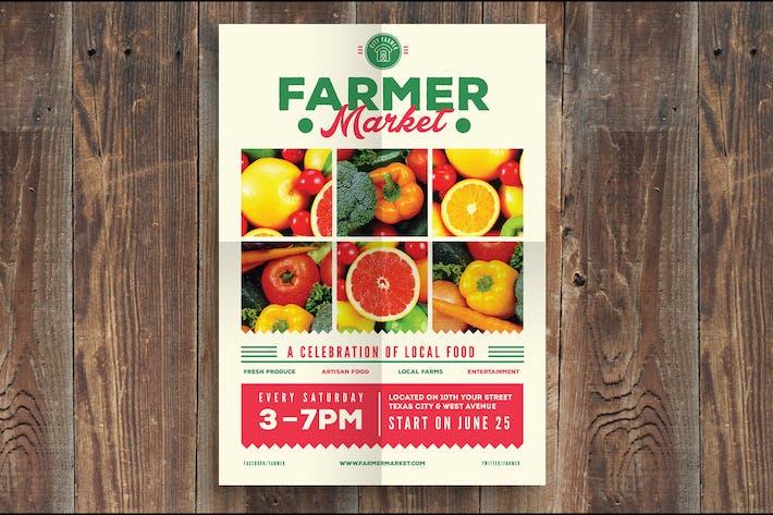 Farmer Market Event Flyer