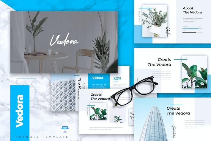 Thumbnail for VEDORA - Creative Keynote Template