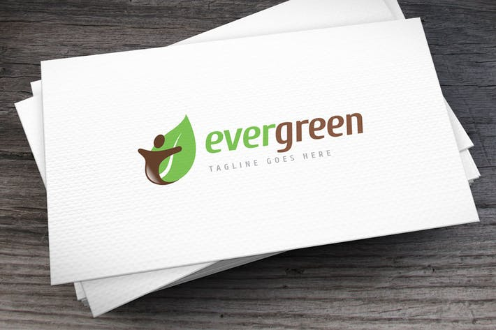 Ever Green Logo Template