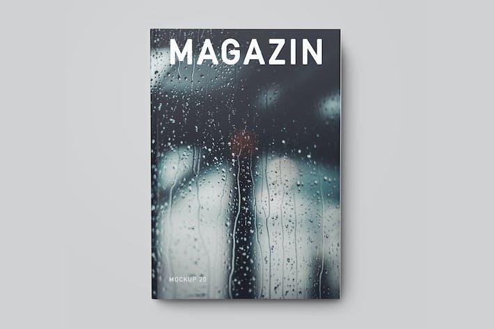 Thumbnail for Magazine / Catalog / Booklet Mock-Up