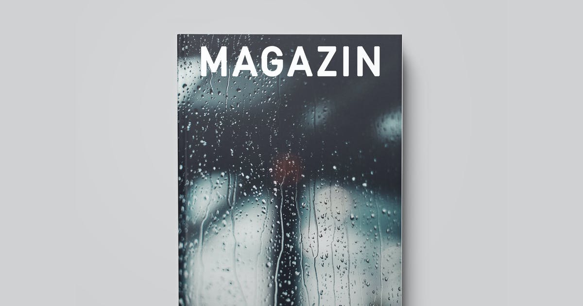 Download Magazine / Catalog / Booklet Mock-Up by PuzzlerBox