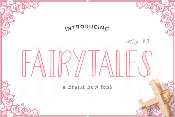 Cover Image For Fairytales Font