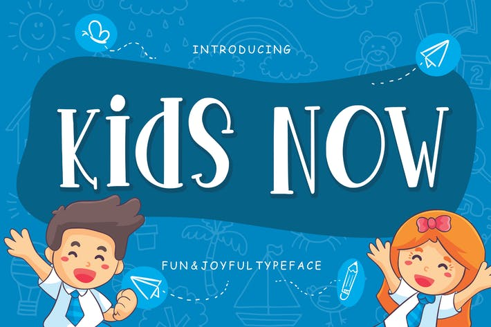 Thumbnail for Kids Now Diversión & Alegre Tipo de letra