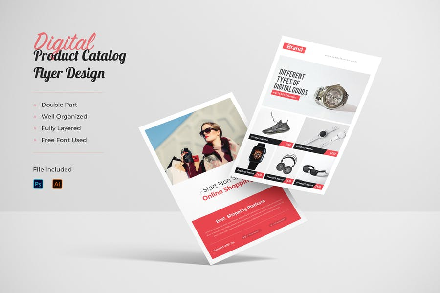 Product Catalog Flyer Template Vol 01