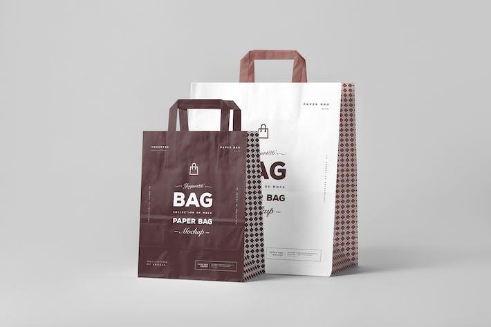 Thumbnail for Paper Bag Mock-up 3