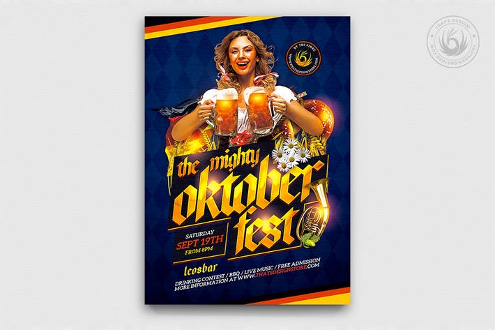 Thumbnail for Oktoberfest Flyer Template V11