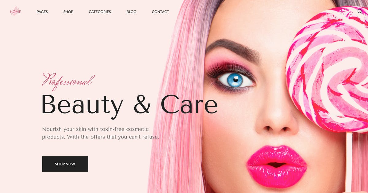 Download BeShop - Beauty eCommerce HTML Template by George_Fx