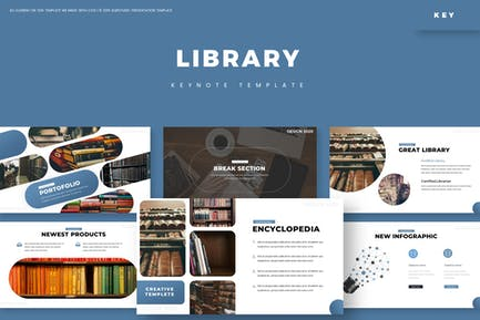 Library - Keynote Template