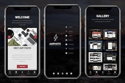 AMP Foto Mobile   Google AMP Mobile News Vorlage