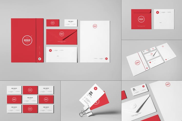 Cover Image For Branding / Identity Mock-up 7