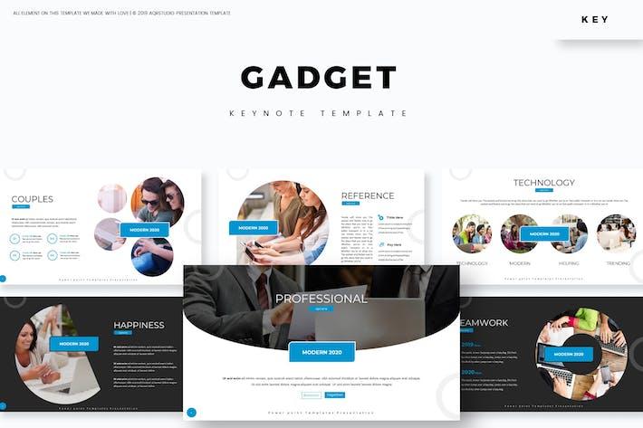 Thumbnail for Gadget - Keynote Template