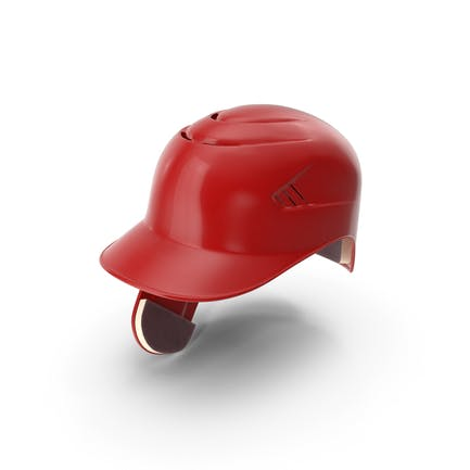 Baseball Helm Ohrenklappe Rot