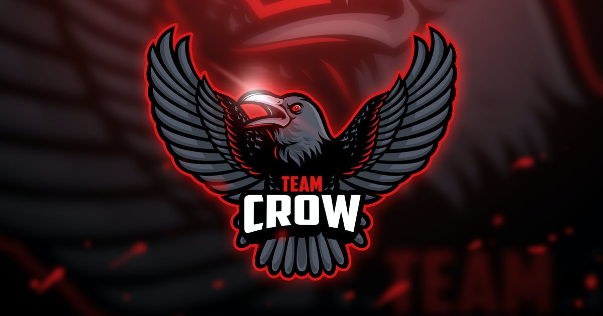 Download Red Crow - Mascot & Esport Logo by aqrstudio