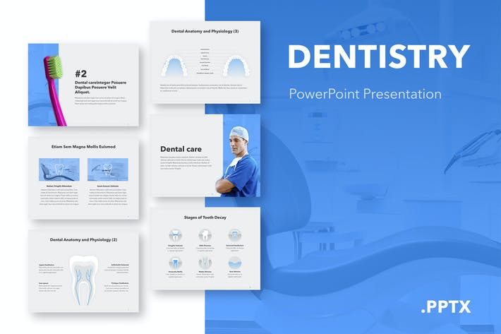 Thumbnail for Dentistry PowerPoint Template