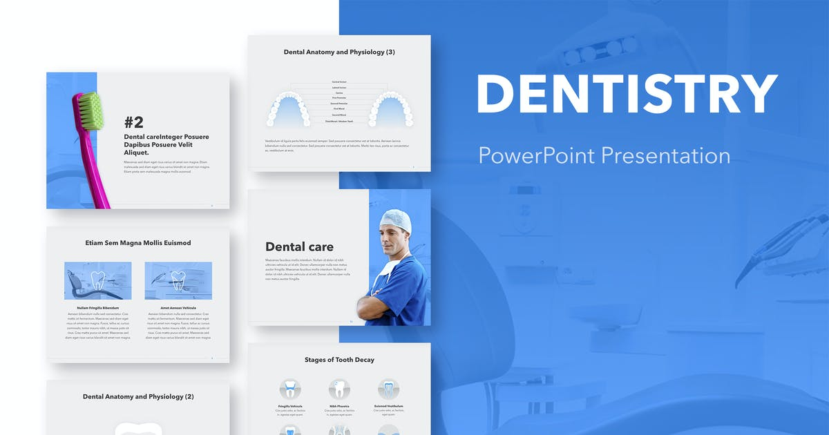 Download Dentistry PowerPoint Template by Jumsoft