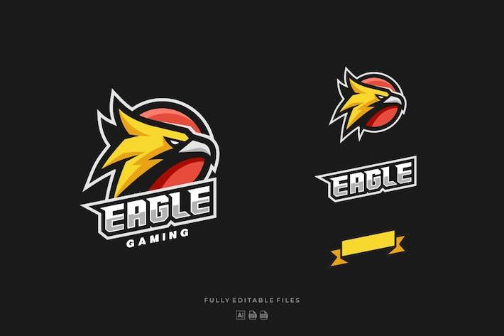 Thumbnail for Eagle Head Sports and E-sports Style Logo