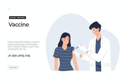 Impfstoff - Abbildung