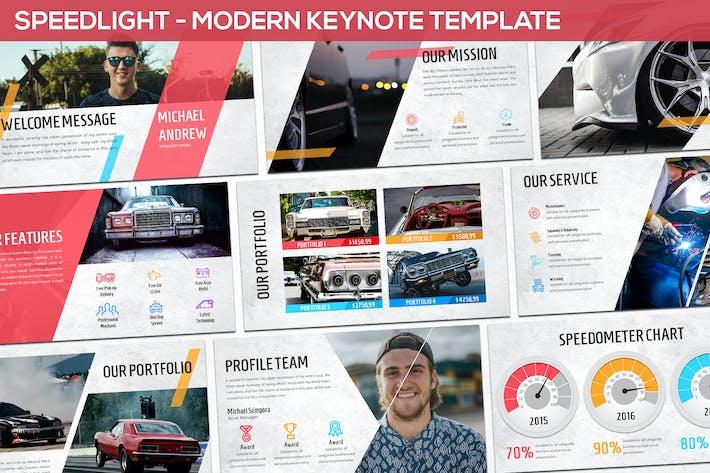 Thumbnail for Speedlight - Modern Keynote Template