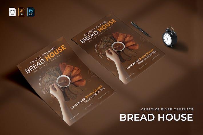 Bread House | Flyer