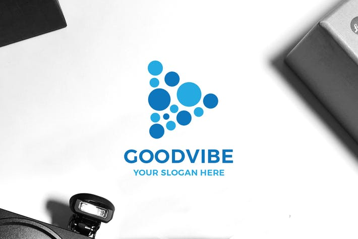 Cover Image For Good Vibe Logo
