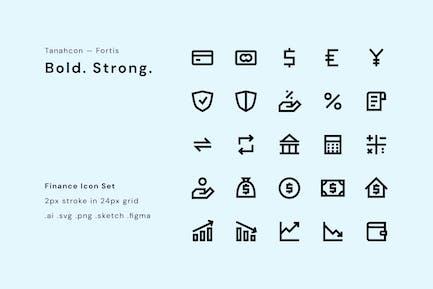 UI Icon Set - Finanzen