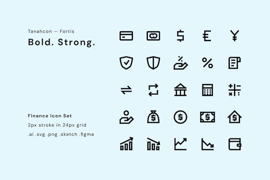 UI Icon Set - Finance