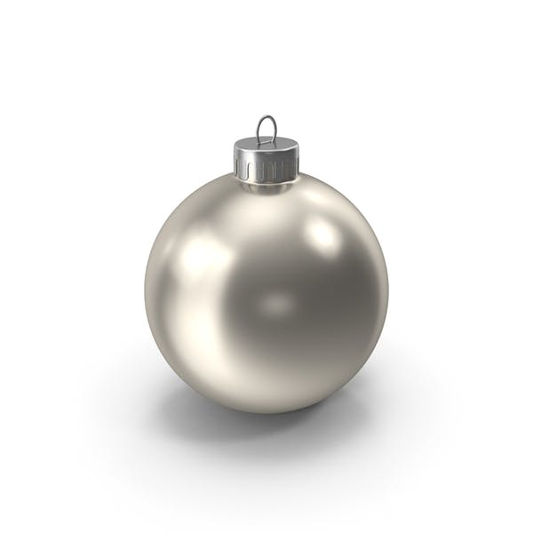 Thumbnail for Christmas Ornament Silver
