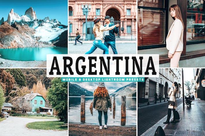 Thumbnail for Argentina для мобильных ПК и настольных ПК Пресеты Lightroom