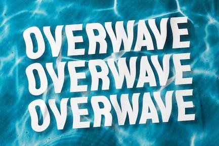 Overwave - Display Sans