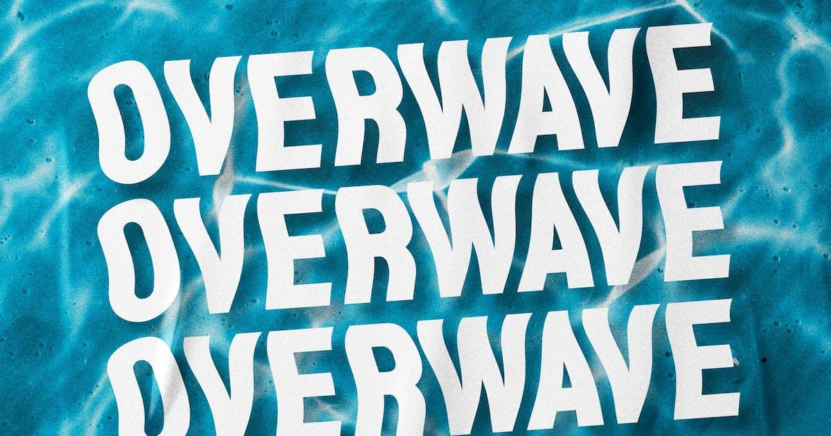 Download Overwave - Display Sans by Alterzone