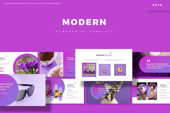 Thumbnail for Modern - Powerpoint-Vorlage