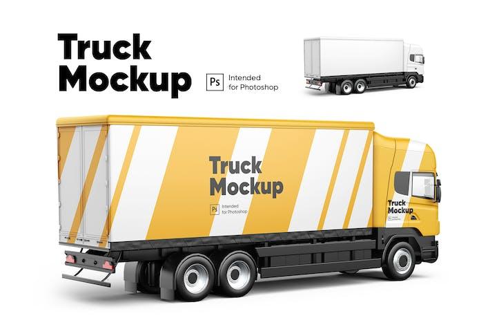 Thumbnail for Truck Mockup