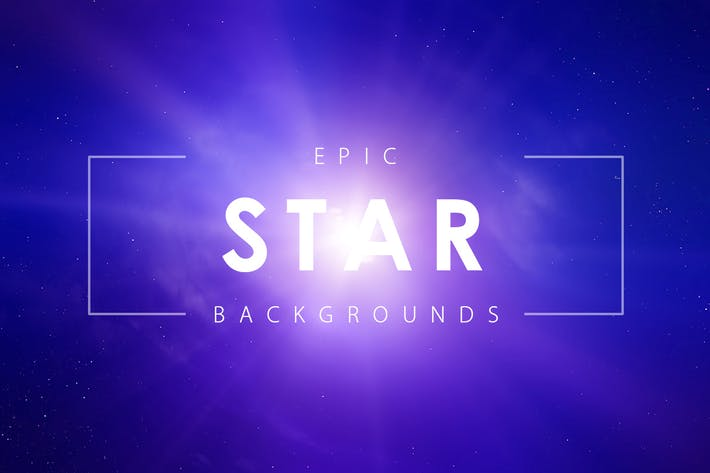 Thumbnail for Epic Star Backgrounds